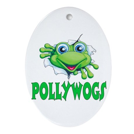 Pollywogs Oval Ornament