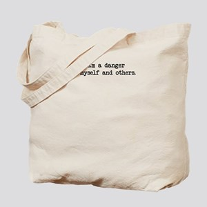 Dngr to Self: Tote Bag