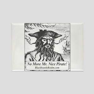 Blackbeard's Stuff Rectangle Magnet