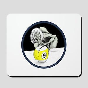 9 Ball Monster Mousepad