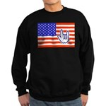 ILY Flag Sweatshirt (dark)