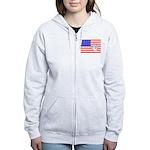 ILY Flag Women's Zip Hoodie