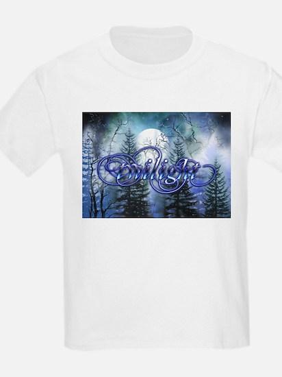 Moonlight Twilight Forest T-Shirt