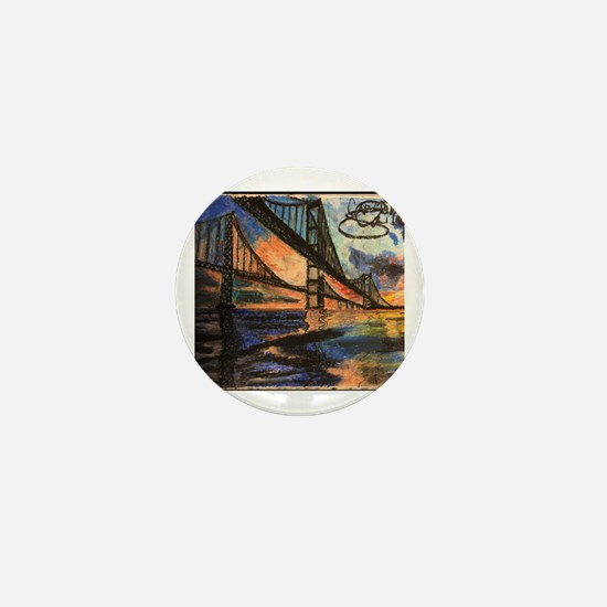 Cute Chesapeake bay Mini Button