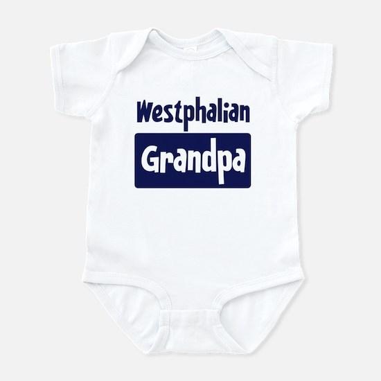 Westphalian grandpa Infant Bodysuit