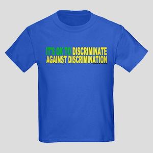 Against Discrimination Kids Dark T-Shirt