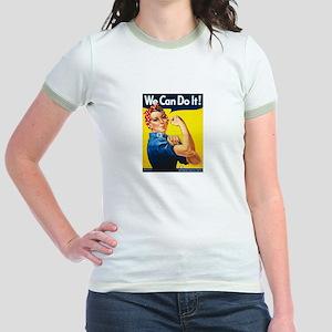 Rosie the Riveter Jr. Ringer T-Shirt