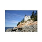 Bass Harbor Lighthouse Rectangle Magnet