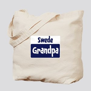 Swede grandpa Tote Bag
