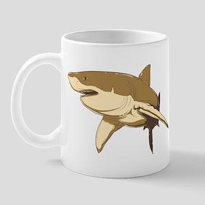 Shark art Mug