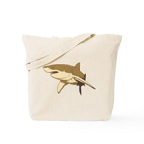 Shark art Tote Bag