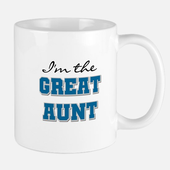 Blue Great Aunt Mug
