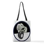 8 Ball Monster Polyester Tote Bag
