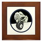 8 Ball Monster Framed Tile