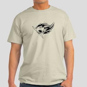 Shark with flames Light T-Shirt