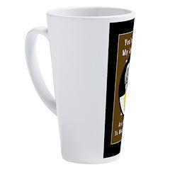 Pool Monster 9 17 oz Latte Mug