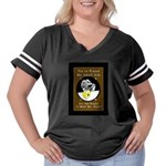 Pool Monster 9 Women's Plus Size Football T-Shirt
