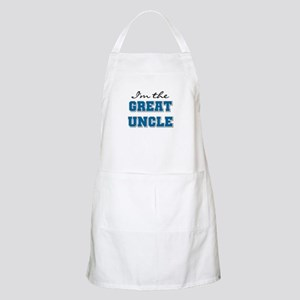 Blue Great Uncle BBQ Apron