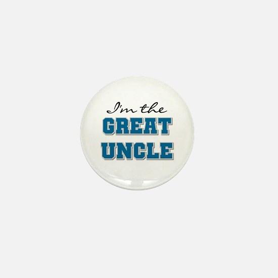 Blue Great Uncle Mini Button