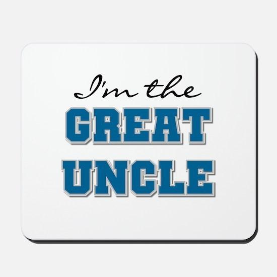 Blue Great Uncle Mousepad