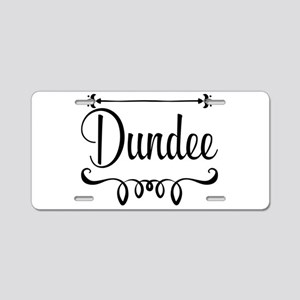 Dundee Aluminum License Plate