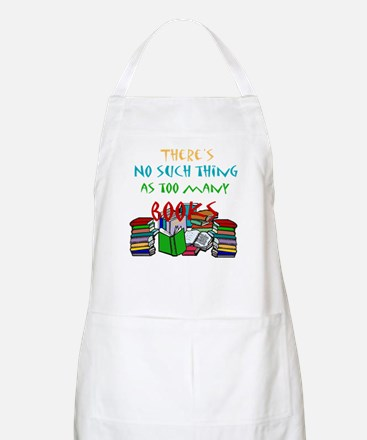 Too Many Books... BBQ Apron