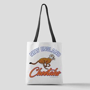 New England Cheetahs Polyester Tote Bag