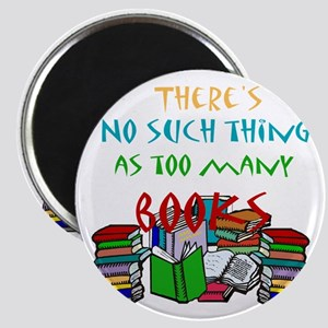 Too Many Books... Magnet