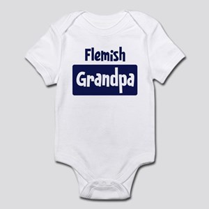 Flemish grandpa Infant Bodysuit