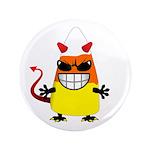 "Evil Candy Corn 3.5"" Button"