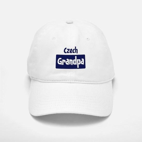 Czech grandpa Baseball Baseball Cap
