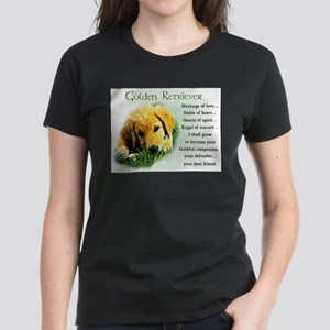 Golden Retriever Gifts Ash Grey T-Shirt