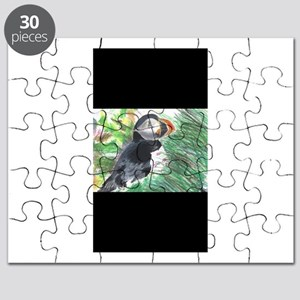 Happy Puffin Puzzle