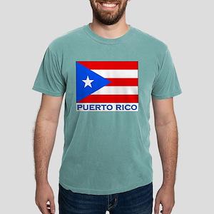 Flag of Puerto Rico Ash Grey T-Shirt