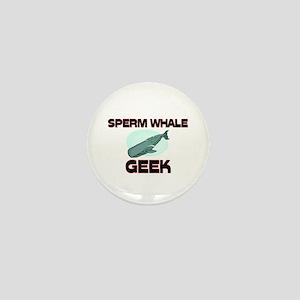 Sperm Whale Geek Mini Button