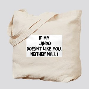 Jindo like you Tote Bag
