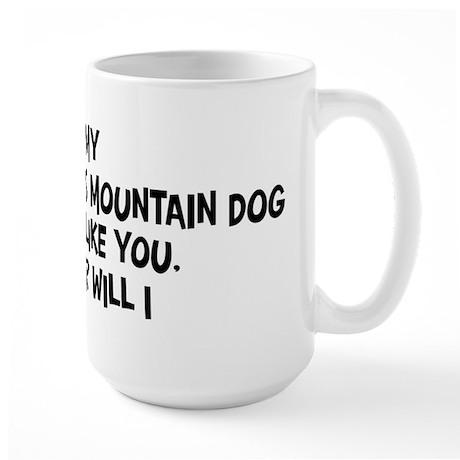 Greater Swiss Mountain Dog li Large Mug