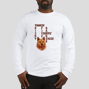 Finnish Spitz crossword Long Sleeve T-Shirt
