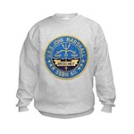 USS JOHN MARSHALL Kids Sweatshirt