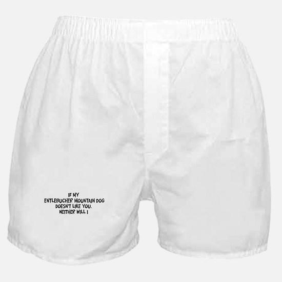 Entlebucher Mountain Dog like Boxer Shorts