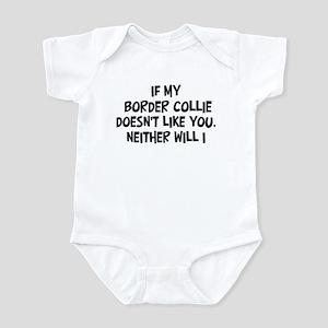 Border Collie like you Infant Bodysuit