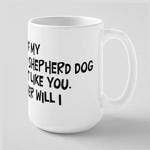 Anatolian Shepherd Dog like y Large Mug