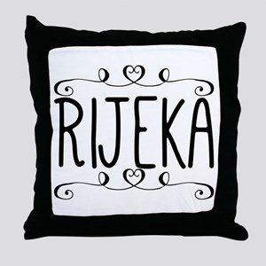 Rijeka Throw Pillow