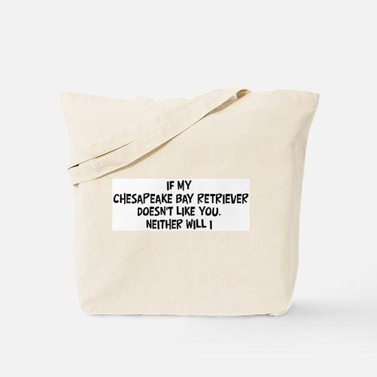 Chesapeake Bay Retriever like Tote Bag