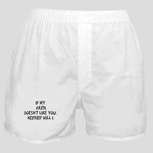 Akita like you Boxer Shorts