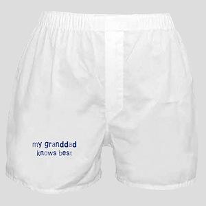 Granddad knows best Boxer Shorts