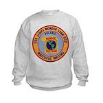 USS JAMES MONROE Kids Sweatshirt