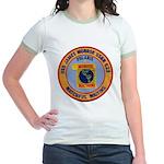 USS JAMES MONROE Jr. Ringer T-Shirt