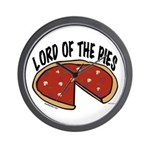 Lord of the Pies Wall Clock