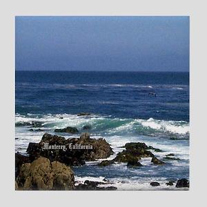 Monterey, California Souvenir Tile Coaster